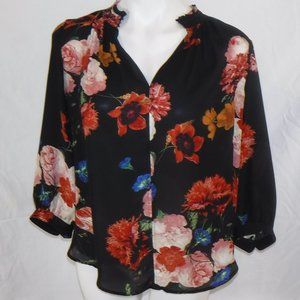 Worthington Floral Top